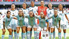 Selección Fútbol Femenino Mundial 2019